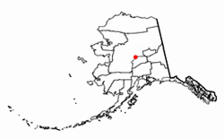 Lake Minchumina is in the exact center of the state of Alaska