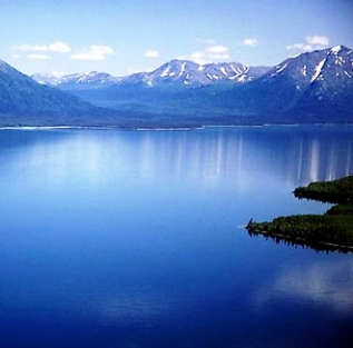 Lake Clark is a beautiful nature spot in Alaska